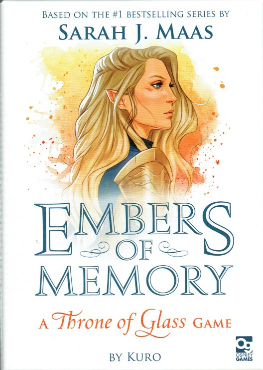 Image for EMBERS OF MEMORY : A THRONE OF GLASS GAME (GAME)