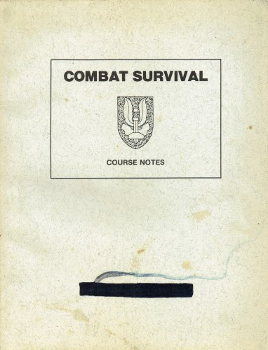 Image for COMBAT SURVIVAL COURSE NOTES