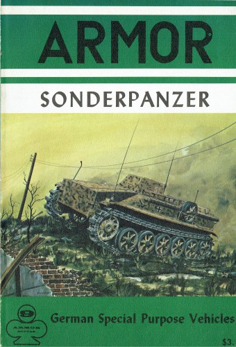 Image for SONDERPANZER : GERMAN SPECIAL PURPOSE VEHICLES