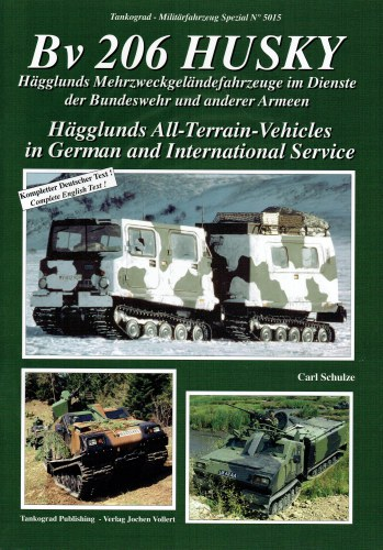 Image for BV 206 HUSKY : HAGGLUNDS ALL-TERRAIN-VEHICLES IN GERMAN AND INTERNATIONAL SERVICE