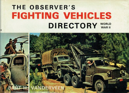 Image for THE OBSERVER'S FIGHTING VEHICLES DIRECTORY: WORLD WAR II