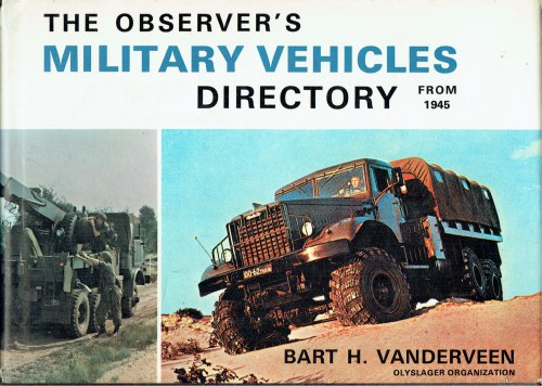 Image for THE OBSERVER'S MILITARY VEHICLES DIRECTORY FROM 1945