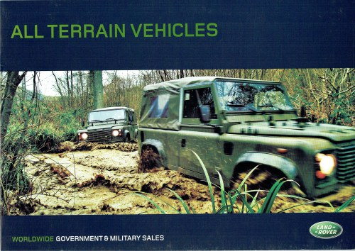 Image for ALL TERRAIN VEHICLES (LAND ROVER)