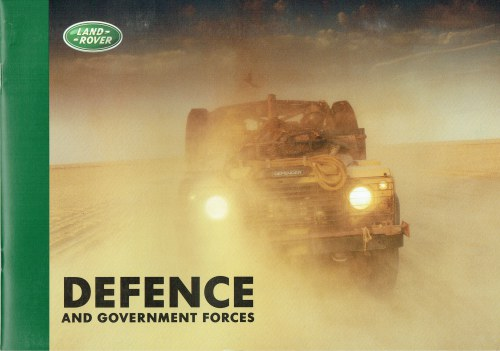 Image for DEFENCE AND GOVERNMENT FORCES (LAND ROVER)