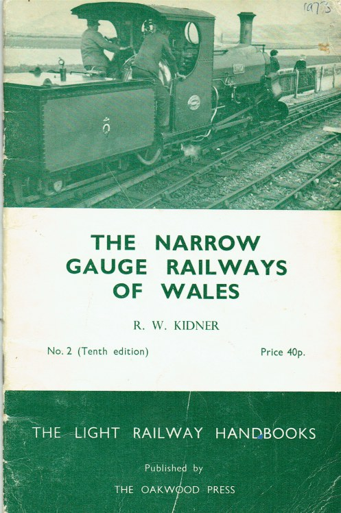 Image for THE NARROW GAUGE RAILWAYS OF WALES