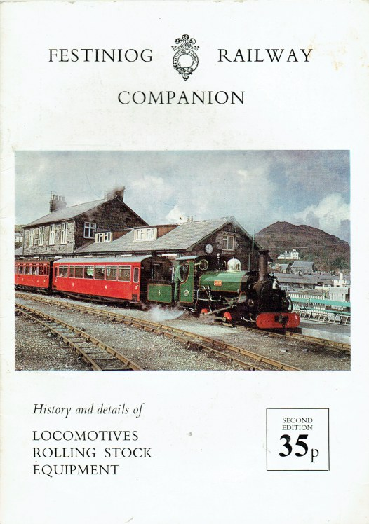 Image for FESTINIOG RAILWAY COMPANION