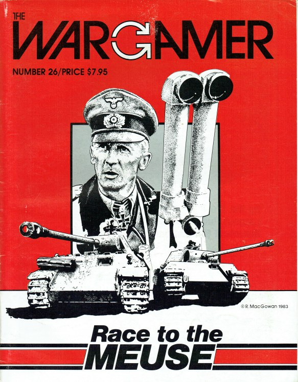Image for THE WARGAMER NUMBER 26 : RACE TO THE MEUSE