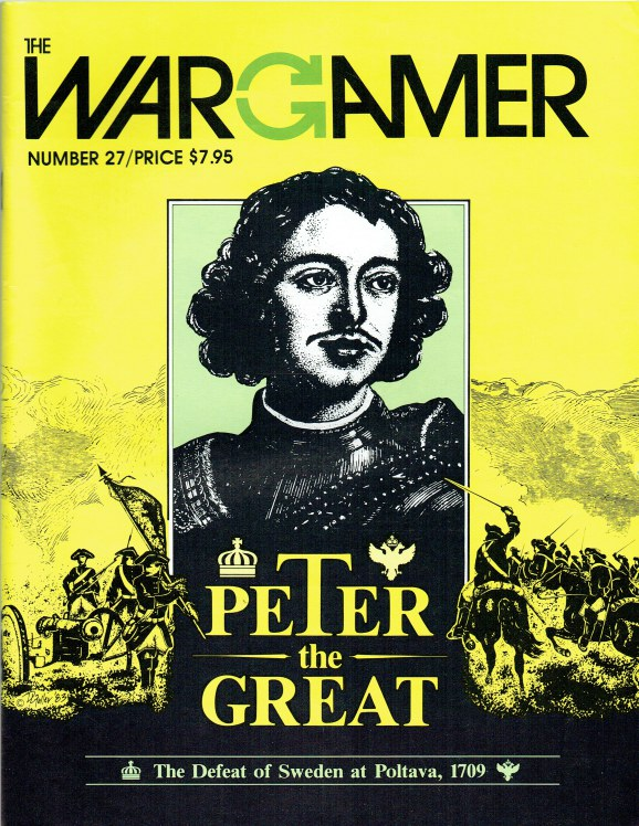 Image for THE WARGAMER NUMBER 27: PETER THE GREAT - THE DEFEAT OF SWEDEN AT POLTAVA