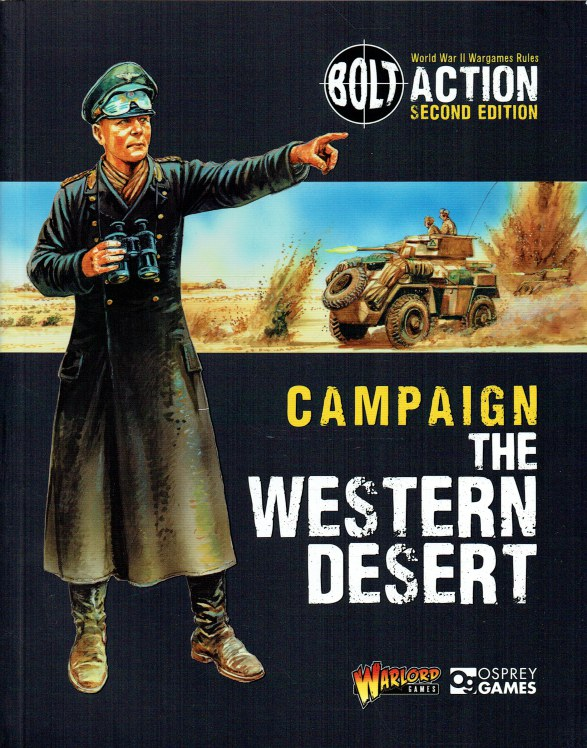 Image for BOLT ACTION SECOND EDITION CAMPAIGN: THE WESTERN DESERT