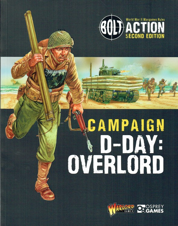 Image for BOLT ACTION SECOND EDITION CAMPAIGN: D-DAY: OVERLORD