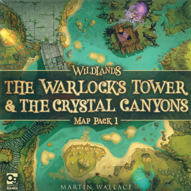 Image for WILDLANDS : THE WARLOCK'S TOWER & THE CRYSTAL CANYONS : MAP PACK 1 (GAME)