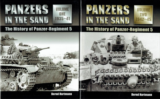 Image for PANZERS IN THE SAND : THE HISTORY OF PANZER REGIMENT 5 1935-1945 (TWO VOLUME SET)