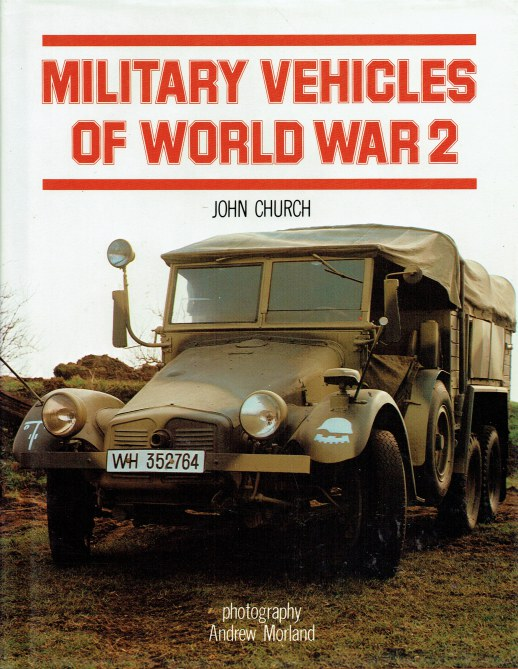 Image for MILITARY VEHICLES OF WORLD WAR 2