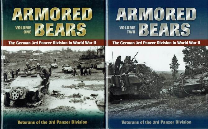 Image for ARMORED BEARS: THE GERMAN 3RD PANZER DIVISION IN WORLD WAR II (TWO VOLUME SET)