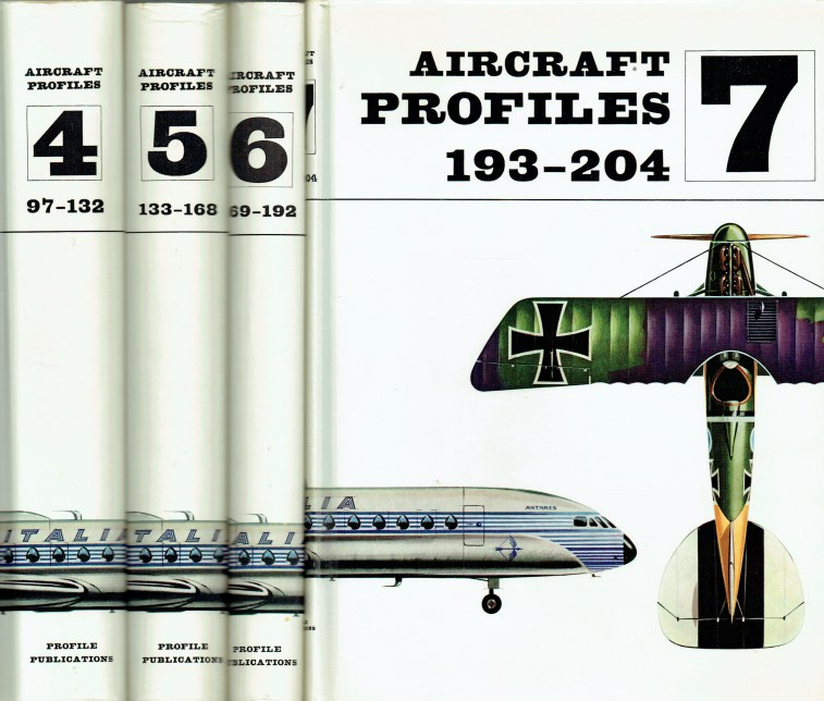 Image for AIRCRAFT IN PROFILE : AIRCRAFT PROFILES 1-204 (7 VOLUME SET)