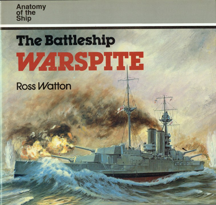 Image for ANATOMY OF THE SHIP: THE BATTLESHIP WARSPITE