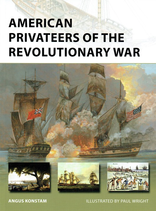 Image for AMERICAN PRIVATEERS OF THE REVOLUTIONARY WAR