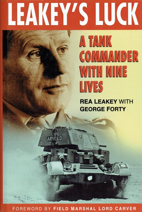 Image for LEAKEY'S LUCK : A TANK COMMANDER WITH NINE LIVES