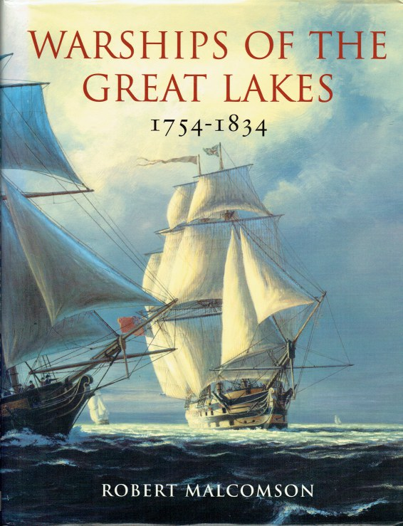 Image for WARSHIPS OF THE GREAT LAKES 1754-1834