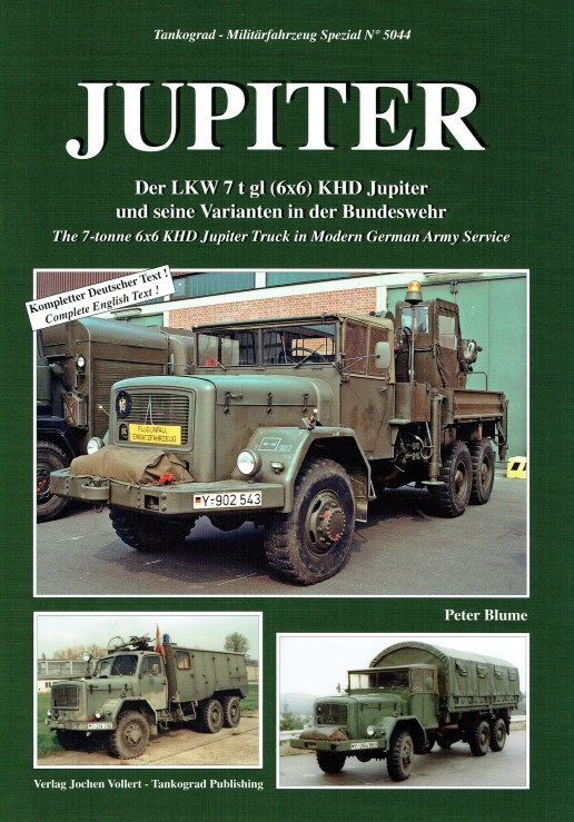 Image for JUPITER : THE 7-TONNE 6X6 KHD JUPITER TRUCK IN MODERN GERMAN ARMY SERVICE