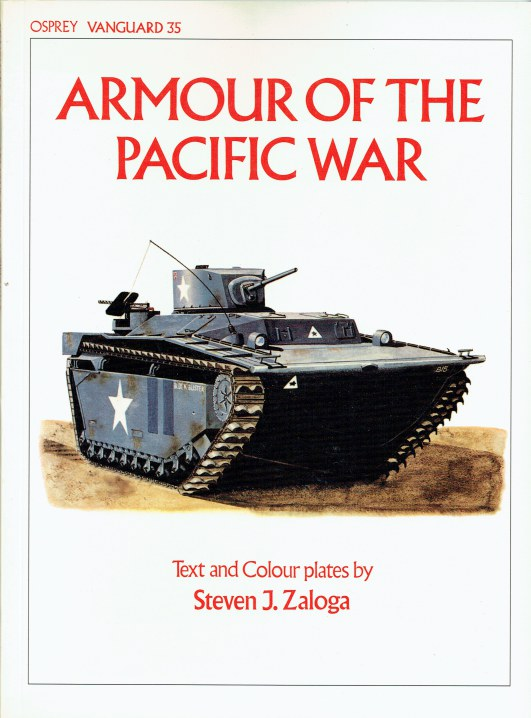 Image for OSPREY VANGUARD 35: ARMOUR OF THE PACIFIC WAR