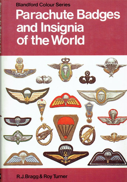 Image for PARACHUTE BADGES AND INSIGNIA OF THE WORLD IN COLOUR
