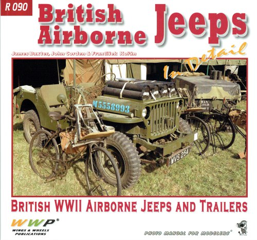 Image for BRITISH AIRBORNE JEEPS IN DETAIL