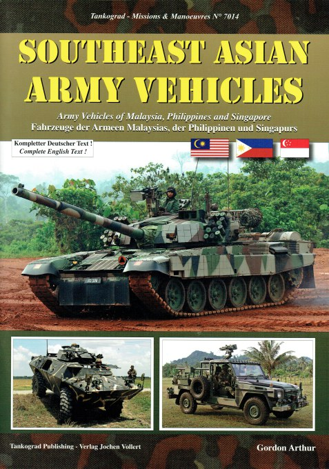 Image for SOUTHEAST ASIAN ARMY VEHICLES: ARMY VEHICLES OF MALAYSIA, PHILIPPINES AND SINGAPORE