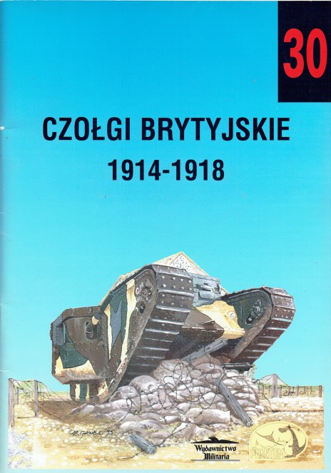 Image for CZOLGI BRYTYJSKIE 1914-1918 (POLISH TEXT)