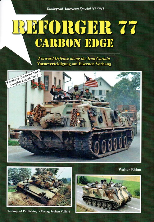 Image for REFORGER 77 CARBON EDGE : FORWARD DEFENCE ALONG THE IRON CURTAIN