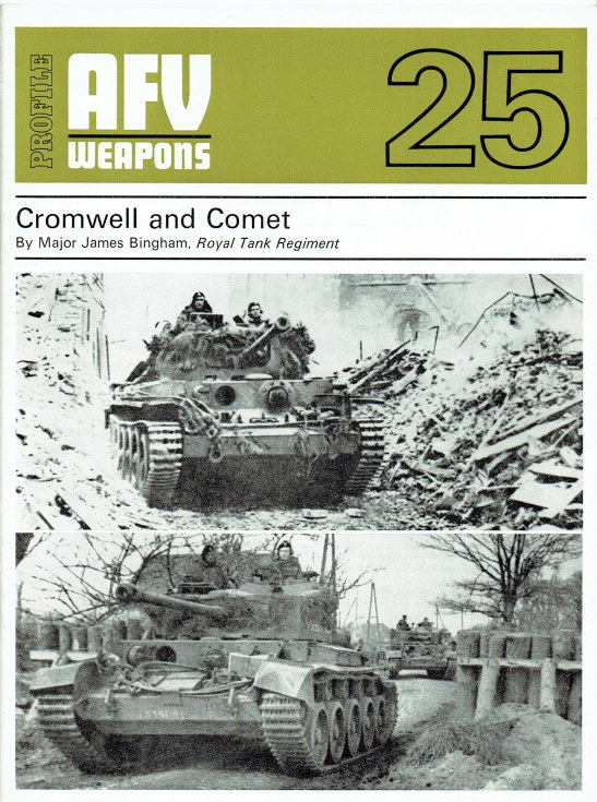 Image for PROFILE AFV 25: CROMWELL AND COMET