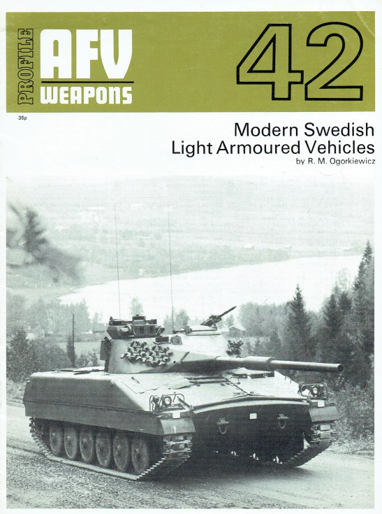 Image for PROFILE AFV 42: MODERN SWEDISH LIGHT ARMOURED VEHICLES