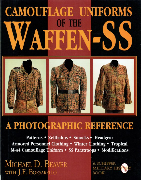 Image for CAMOUFLAGE UNIFORMS OF THE WAFFEN-SS