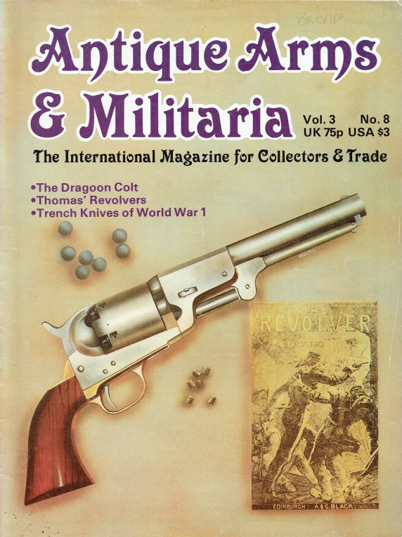 Image for ANTIQUE ARMS & MILITARIA VOL.3 NO.8 MAY 1981