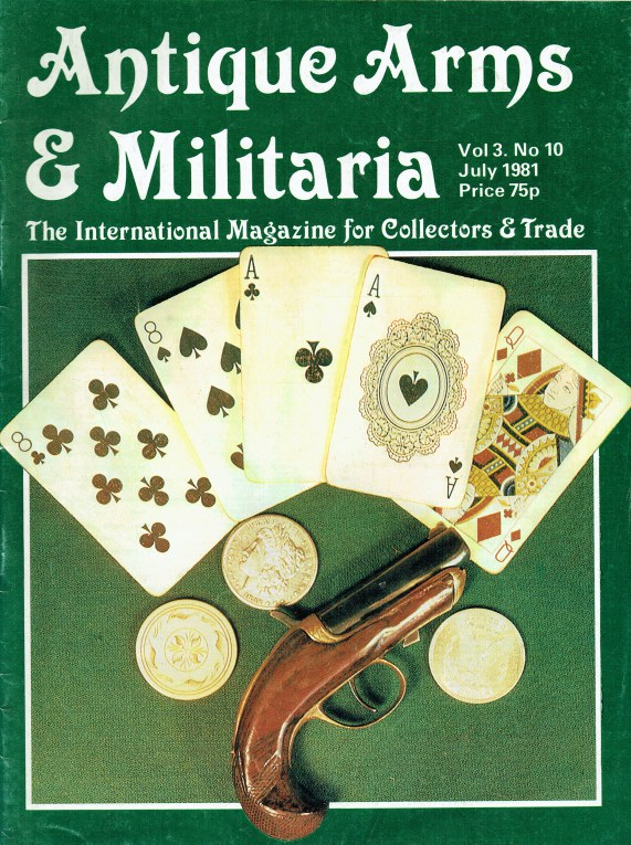 Image for ANTIQUE ARMS & MILITARIA VOL.3 NO.10 JULY 1981