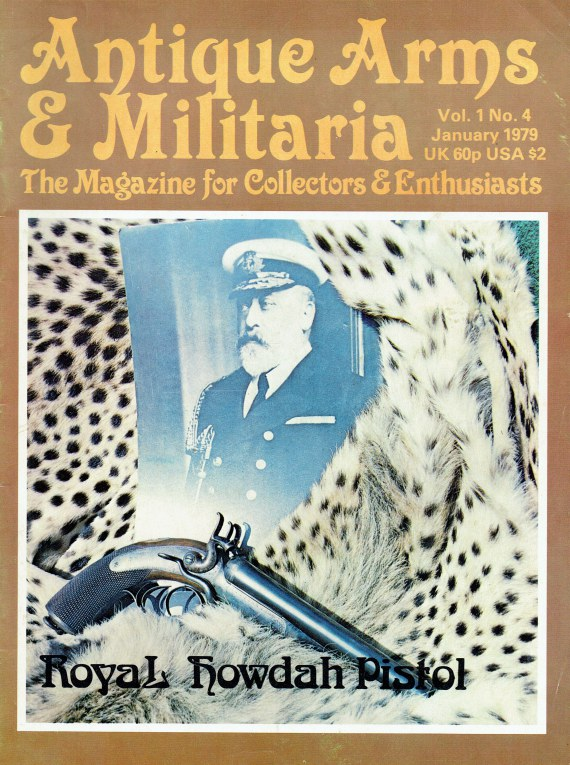 Image for ANTIQUE ARMS & MILITARIA VOL.1 NO.4 JANUARY 1979