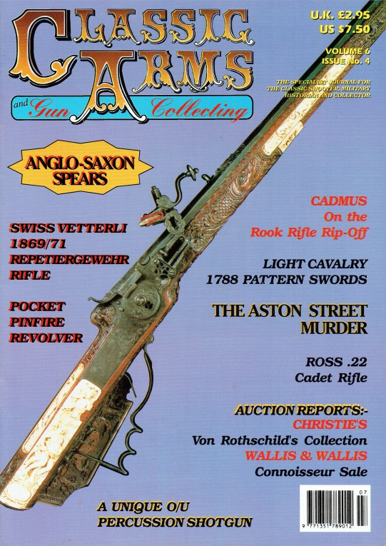Image for CLASSIC ARMS AND MILITARIA VOL.6, ISSUE 4 JULY / AUGUST 1999