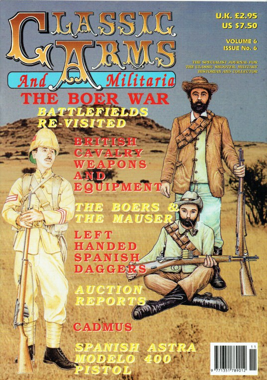 Image for CLASSIC ARMS AND MILITARIA VOL.6, ISSUE 6 NOVEMBER / DECEMBER 1999