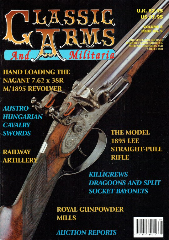 Image for CLASSIC ARMS AND MILITARIA VOL.8, ISSUE 5 SEPTEMBER / OCTOBER 2001