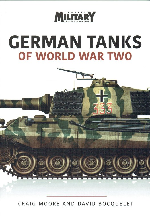 Image for GERMAN TANKS OF WORLD WAR TWO