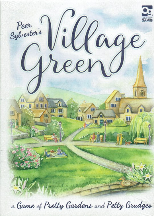 Image for VILLAGE GREEN : A GAME OF PRETTY GARDENS AND PETTY GRUDGES (GAME)