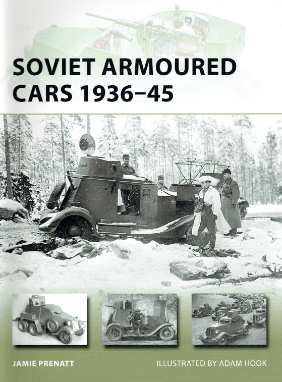 Image for SOVIET ARMOURED CARS 1936-45