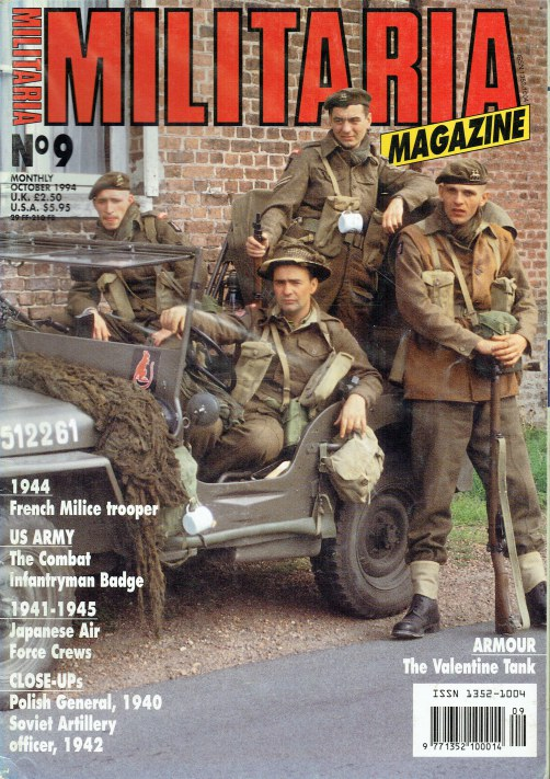Image for MILITARIA MAGAZINE NO 9 : OCTOBER 1994