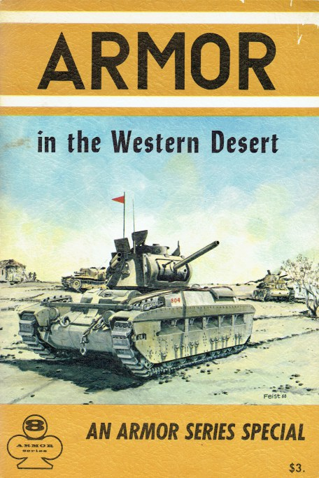 Image for ARMOR IN THE WESTERN DESERT