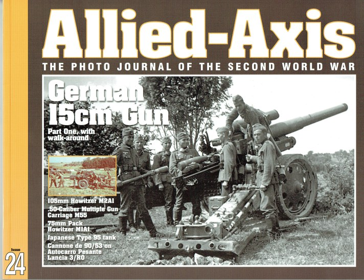 Image for ALLIED-AXIS ISSUE 24: THE PHOTO JOURNAL OF THE SECOND WORLD WAR