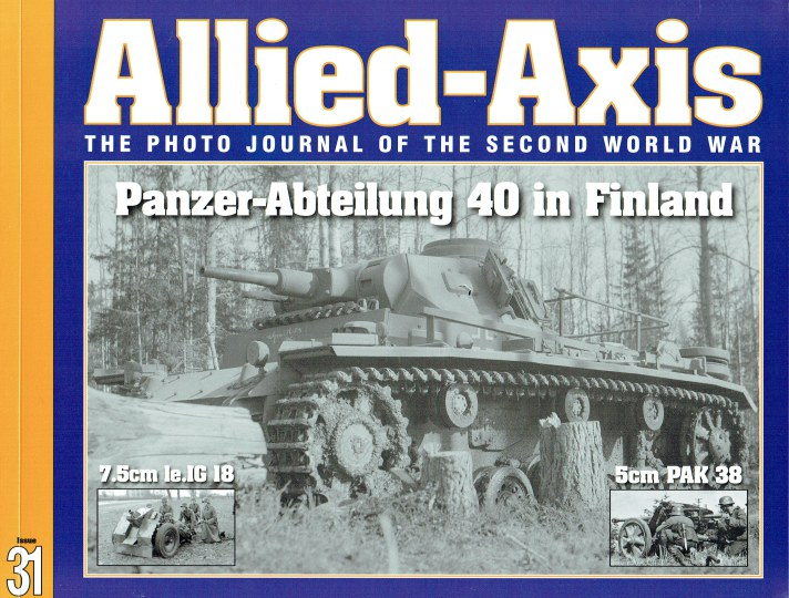 Image for ALLIED-AXIS ISSUE 31: THE PHOTO JOURNAL OF THE SECOND WORLD WAR