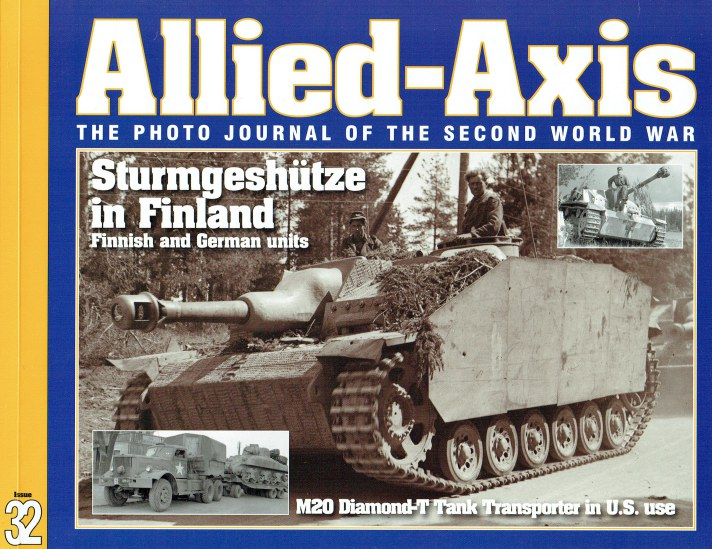 Image for ALLIED-AXIS ISSUE 32: THE PHOTO JOURNAL OF THE SECOND WORLD WAR