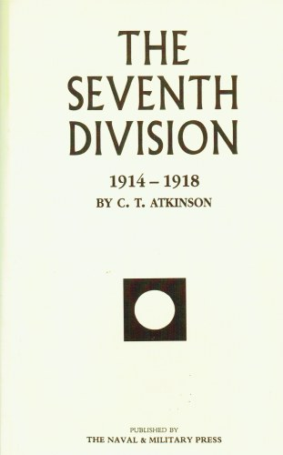 Image for THE SEVENTH DIVISION 1914-1919