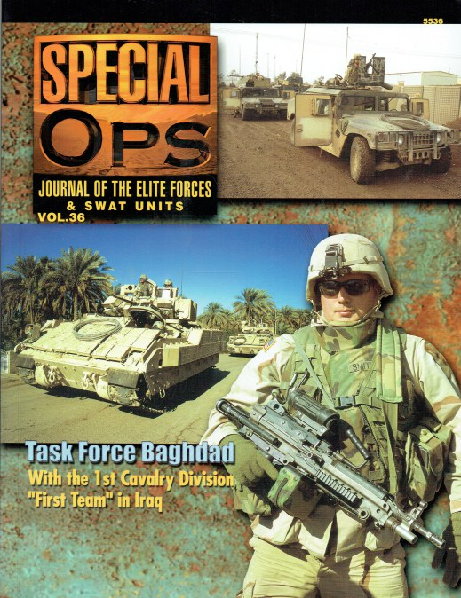 Image for SPECIAL OPS : JOURNAL OF THE ELITE FORCES & SWAT UNITS VOL.36