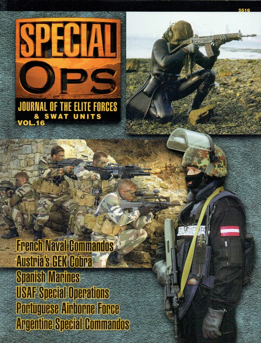 Image for SPECIAL OPS : JOURNAL OF THE ELITE FORCES & SWAT UNITS VOL.16